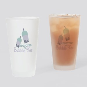 Bubble Tea Drinking Glass